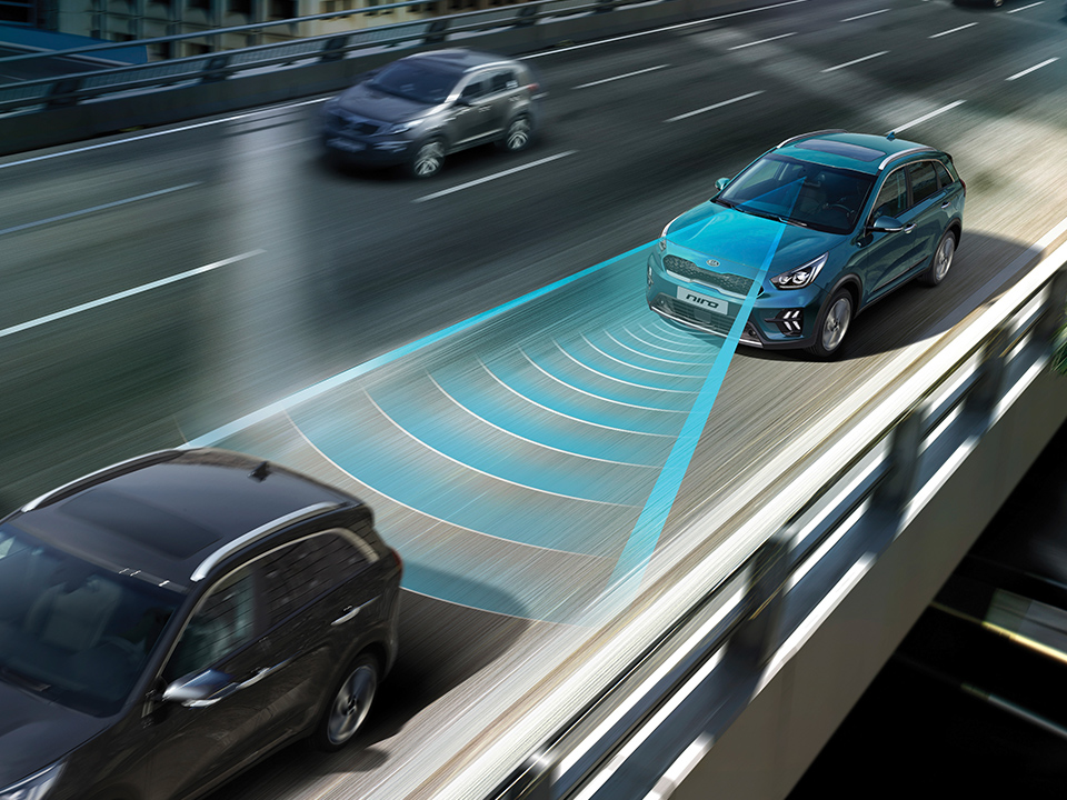 Kia Niro Plug-in Hybrid Forward Collision-Avoidance Assist